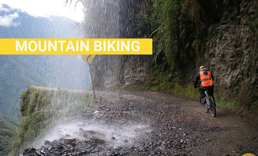 Bolivia Death Road Mountain Biking