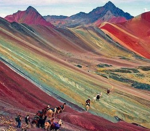 Rainbow Mountain Day Tour (Budget) - Cusco - Peru (Rainbow ...