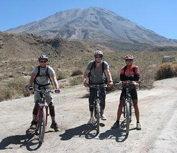 Misti & Chiguata Biking Half Day - Arequipa - Peru