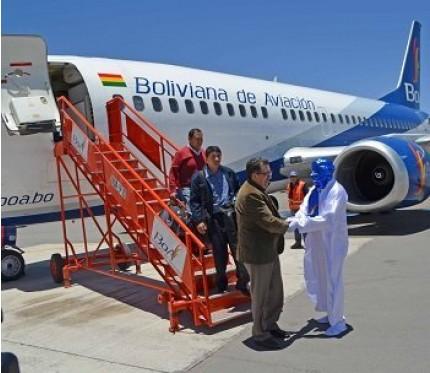 Flight Sucre to La Paz (BoA)