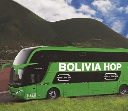 Tourist Bus Copacabana to Cusco (Bolivia Hop)