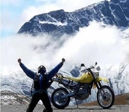 Chacaltaya 1 Day Motorcycle Tour - La Paz