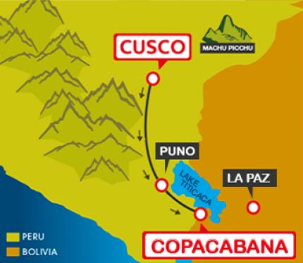 Tourist Bus Cusco to Puno to Copacabana (Bolivia Hop)