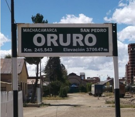 Train Uyuni to Oruro