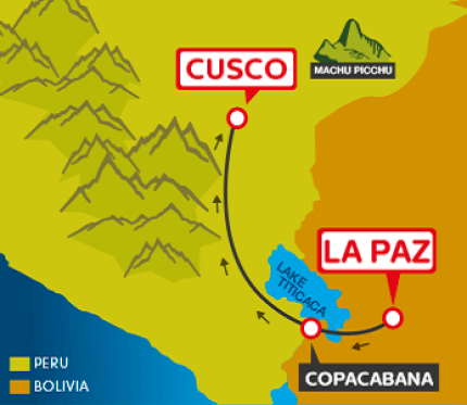Tourist Bus La Paz to Copacabana to Cusco (Bolivia Hop)