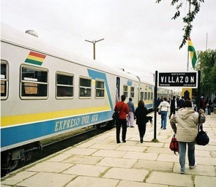 Train Uyuni to Villazón
