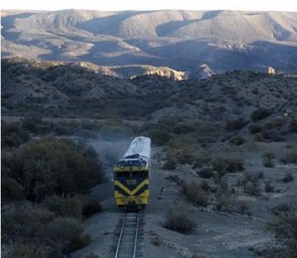 Train Villazón to Oruro