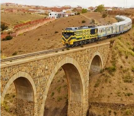 Train Tupiza to Villazón