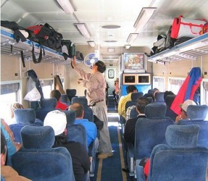 Train Tupiza to Oruro