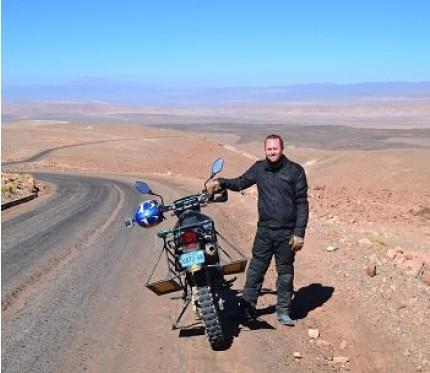 Toconao & Atacama Salt Flats Motorcycle Tour Half Day - San Pedro de Atacama