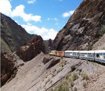 Train Uyuni to Tupiza