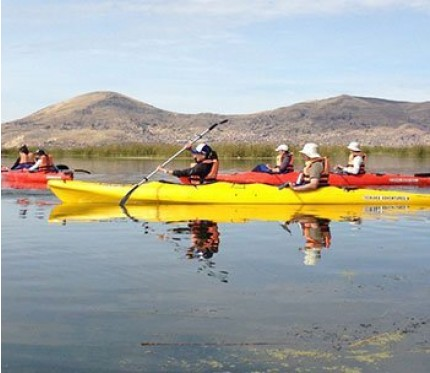 Uros Floating Islands & Taquile Island Lake Titicaca with Kayaking Full Day - Puno