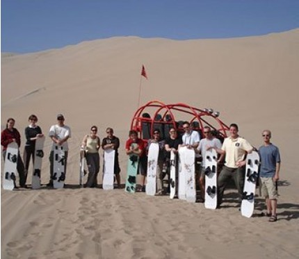 Sand Boarding & Sand Buggy 2 Day Tour - Lima