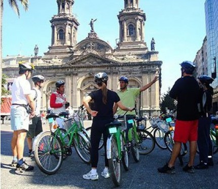 City Tour Half Day by Bike - Santiago de Chile