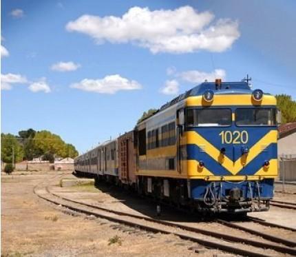 Train Oruro to Tupiza