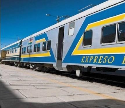 Train Oruro to Uyuni