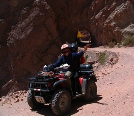 Moon or Sun Valley Quadbiking Half Day - La Paz