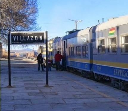 Train Oruro to Villazón