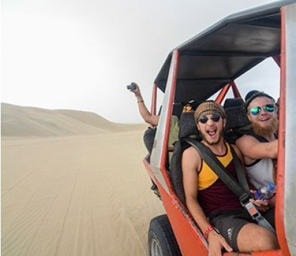 Ballestas Islands & Sand-Boarding 2-Day Tour (from Lima)