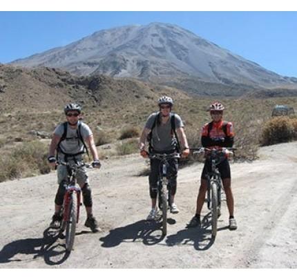 Misti & Chiguata Biking Half Day - Arequipa