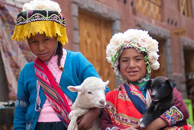 Quechua Children Cusco