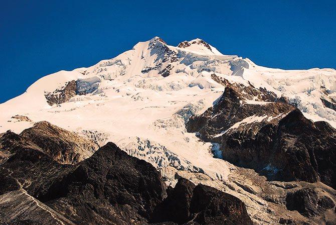 Huayna Potosi Climb Bolivia