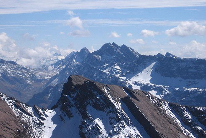 View from Cerro Tunari Cochabamba Bolivia