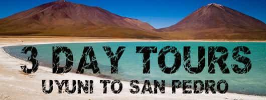 Salt Flats Tours to San Pedro