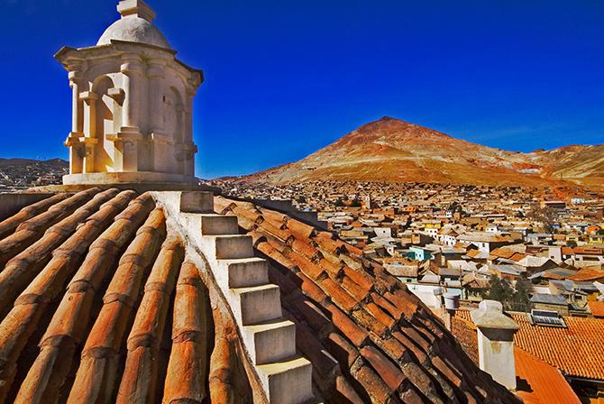 Potosi Cerro Rico Bolivia