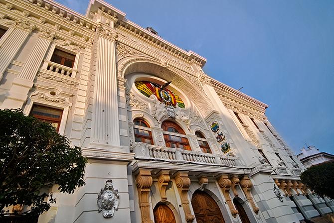 Sucre Colonial Buildings