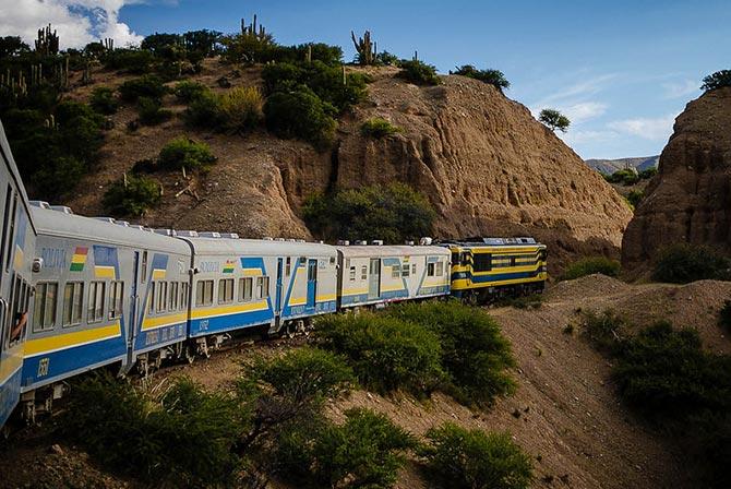 Train Tickets Bolivia